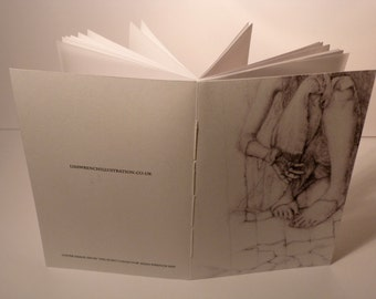 A6 Pocket Notebook / Sketchbook / Dreambook / Journal