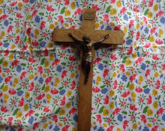 Vintage wooden crucifix