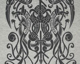S - XL Odinn Odin Rune Pagan Norse T-Shirt Choice of Colors BL