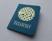 Teal Epcot Passport - Collect Stamps Around the World Showcase!