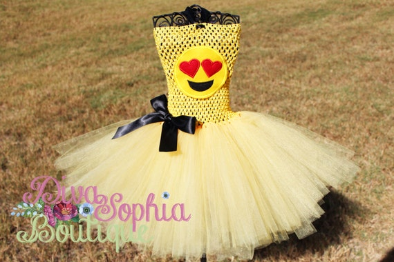 Emoji Tutu Dress Up Costumes
