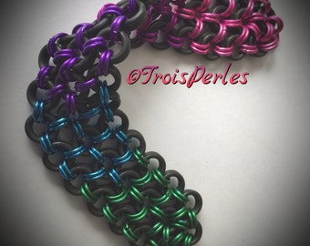 01 Chain Maille bracelet - Chainmaille bracelet