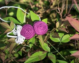 Plum Purple  Headband , Grape Purple  Headband for Babies Toddlers Girls