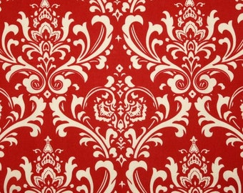 One and One Half Yard - Ozborne American Red Indoor/Outdoor Premier Prints Fabric