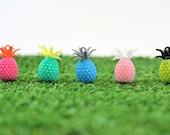 3d printed pineapple earrings
