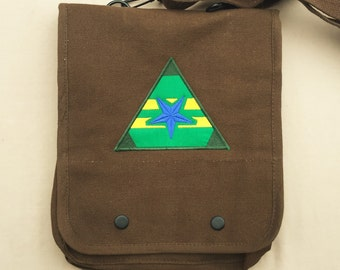 Firefly Patch Embroidered Tablet Bag (Home Embroidered)