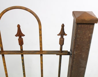 """3""""sq Wrought Iron Austin Fence Post for Fencing and Gates Support"""