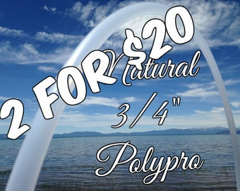 2 for 20 Polypro or HDPE Practice Hula Hoops You Choose Material and Size