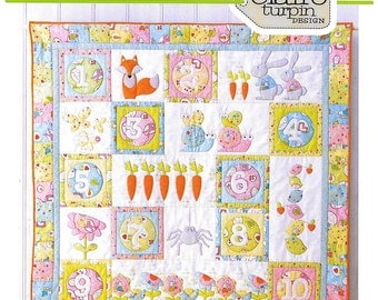 Pattern ''Count On Me'' Applique Quilt Pattern by Claire Turpin (CT112)