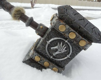 Custom made Doomhammer