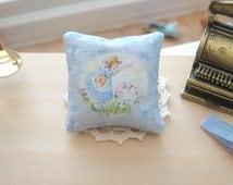 dollhouse cushion pillow mary had a little lamb nursery 12th scale