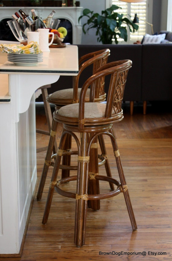 vintage bentwood swivel bar stools rattan backed bar stools. Black Bedroom Furniture Sets. Home Design Ideas