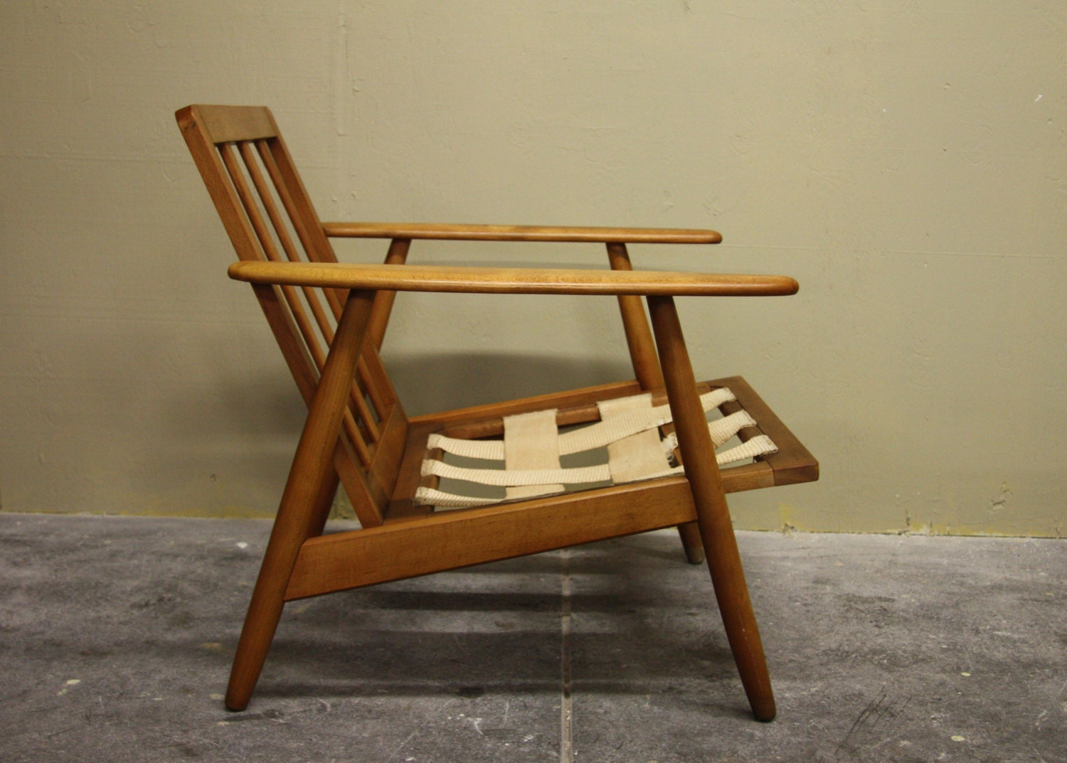 danish mid century modern lounge chair haute juice