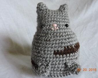 Crochet Stuffed Tabby Cat
