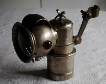 "Vintage Carbide Lamp ""Old Sol"" by Hawthorne"