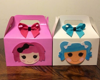 Lalaloopsy party Favor Boxes