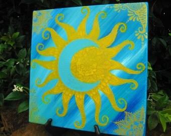 Henna Sunmoon Canvas