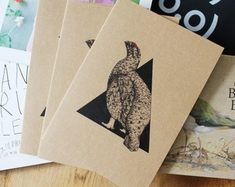 A5 Red Grouse Notepad