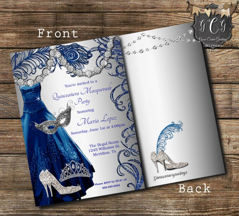 quincera invitations