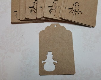 25 Holiday Gift tags/Labels.          #LO-67