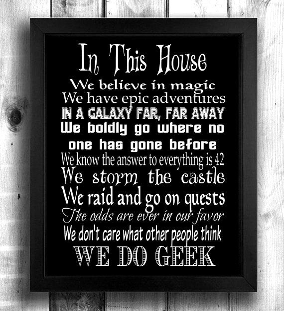 Wedding Gift Rules : Rules, Geek Gift, Geek Wedding Gift, Geek Print, Geek Wall Art, Gift ...