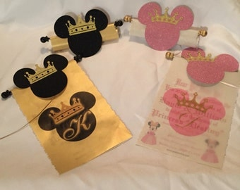 Mickey or Minnie Scrolls