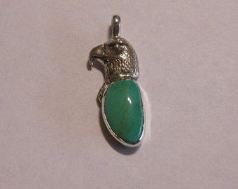 Sterling Silver/Turquoise Pendant