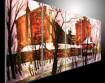 Metal Wall Art Modern 3D Painting Sculpture Indoor Outdoor Decor Original Abstract Wall Art metal painting wall Wall Art Metal Painting Wall