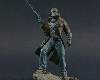 Fallout 54mm New Vegas Sniper Ranger resin figure