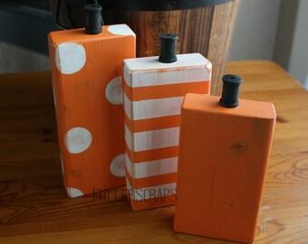 orange block set