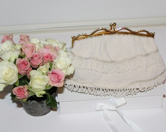 For The Bride Who Is Dreaming of A Stunning French Beaded Bag That Is Heirloom Worthy