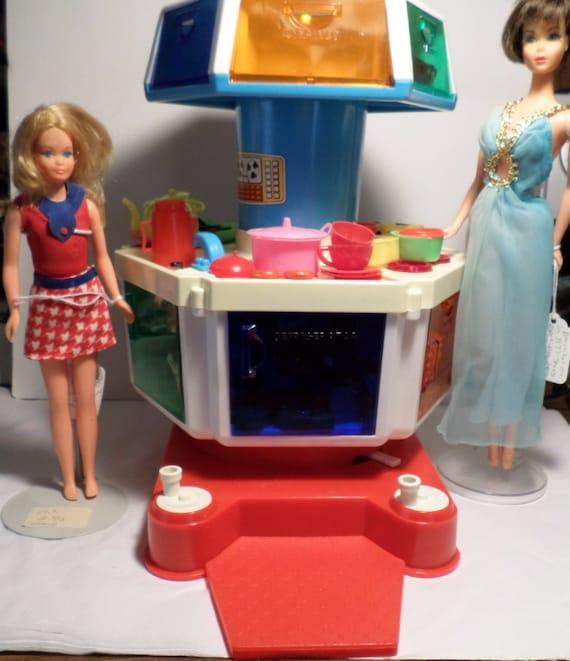 1970s Sears Karosel Kitchen For Barbie In Original Box