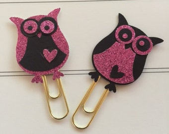 Valentine Owl PaperClips