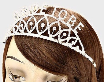 Bride-To-Be #1509 Rhinestone Tiara