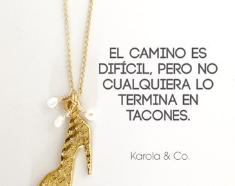 Cadena Tacones by Karola & Co