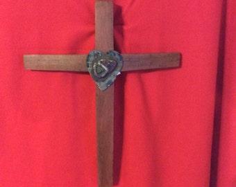 The Heart of Jesus Cross