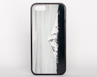 The Sleeping Giant in Oregon by Adventure Case for iPhone 5, 5s, 6, 6 plus, 6s, 6s plus, SE offered as a white or black rubber case