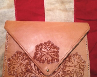 The Dylan - Sheridan Style Leather Clutch
