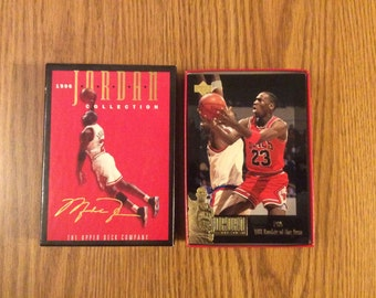 24 Michael Jordan Collection Blow-Up Insert Cards (With Extra Card)