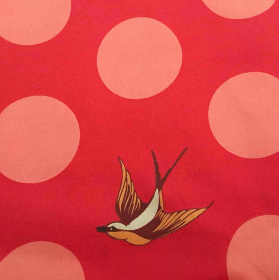 Freefall In Lipstick By Tula Pink 108 Inch Wide Quilt