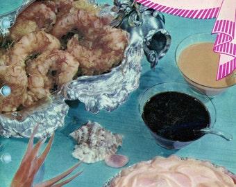 """1959 Cookbook, Betty Crocker's """"Frankly Fancy Foods"""""""