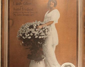 """Antiquarian Sheet Music (1916), """"My Sweet Adair"""""""