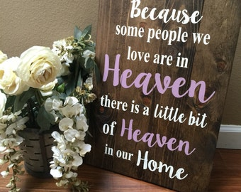Wedding sign, heaven sign, memory wall sign