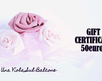 Gift certificate/ last minute gift idea/ gift christmas/ portrait/ accessories/ fast gift