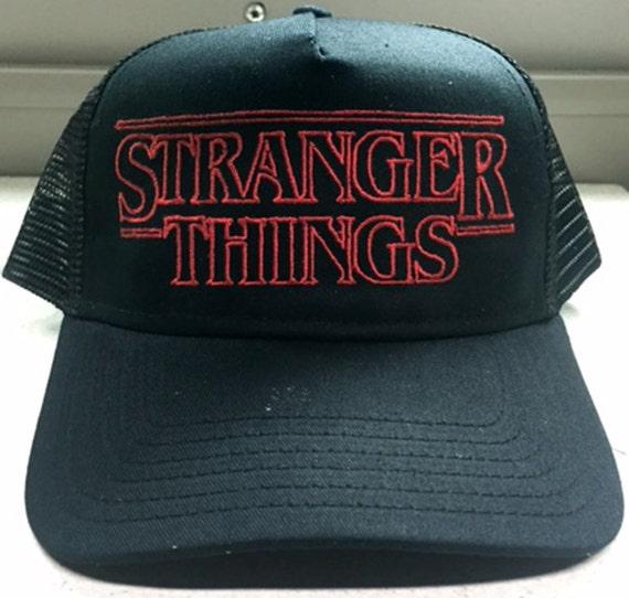 Stranger Things Trucker Cap 80 S Horror Sci Fi Goonies