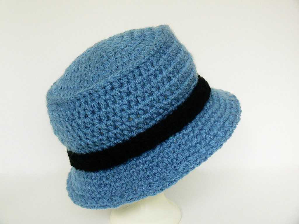 Crochet Pattern Sun Hat : Crochet Pattern Boys Sun Hat Bucket Hat by MeadowvaleStudio