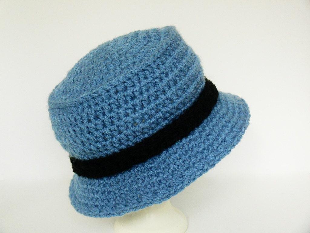 Crochet Newborn Bucket Hat Pattern : Crochet Pattern Boys Sun Hat Bucket Hat by MeadowvaleStudio