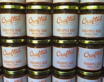 Pineapple Rum Caramel Sauce