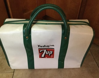 Items Similar To Vintage 7 Up Cooler 7up Memorabilia Ice