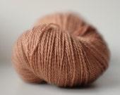 SHARK BAY silky merino lace, 1 available, Butternut Snap, 50/50 silk/merino yarn, ~102g, hand dyed, 700m/100g
